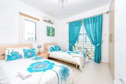 Спальня 3. Кипр, Каппарис : Потрясающая вилла с видом на Средиземное море, с 3-мя спальнями, с бассейном, террасой на крыше, расположена недалеко от пляжа Firemans Beach