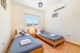 Спальня 3. Кипр, Коннос Бэй : Прекрасная вилла с видом на Средиземное море, с 3-мя спальнями, с бассейном, расположена недалеко от пляжа Mimosa Beach