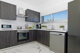 Кухня. Кипр, Каппарис : Современная вилла с видом на Средиземное море, с 3-мя спальнями, с бассейном, солнечной террасой с патио и барбекю, расположена в 600 метрах от пляжа Armyropigado Beach