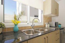 Кухня. Кипр, Нисси Бич : Потрясающая вилла с 3-мя спальнями, с бассейном, солнечной террасой на крыше и барбекю, расположена в 500 метрах от пляжа Sandy Bay Beach