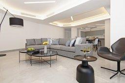 Гостиная. Кипр, Ионион - Айя Текла : Шикарный апартамент с панорамным видом на Средиземное море, с 3-мя спальнями, расположен в 100 метрах от песчаного пляжа Ayia Thekla Golden Sandy Beach