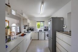 Кухня. Кипр, Фиг Три Бэй Протарас : Очаровательная вилла в греческом стиле с 4-мя спальнями, тенистой террасой с патио и барбекю, расположена недалеко от пляжа Fig Tree Bay