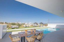 Бассейн. Кипр, Санрайз Протарас : Современная вилла с 3-мя спальнями, с бассейном, солнечной террасой с патио, lounge-зоной и барбекю, расположена недалеко от пляжа Sunrise Beach
