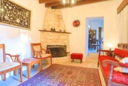 Гостиная. Кипр, Друсхия : Каменный дом с 3-мя спальнями, солнечной террасой с патио и барбекю, в окружении зелёного сада, расположен на окраине традиционной деревни Droushia
