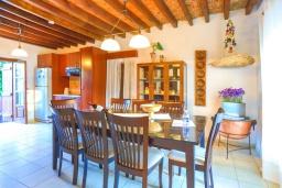 Обеденная зона. Кипр, Друсхия : Каменный дом с 3-мя спальнями, солнечной террасой с патио и барбекю, в окружении зелёного сада, расположен на окраине традиционной деревни Droushia
