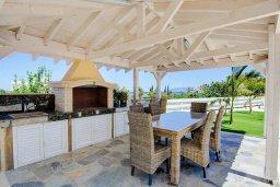 Беседка. Кипр, Лачи : Превосходная вилла с террасой на крыше с видом на Средиземное море, с 3-мя спальнями, с бассейном, беседкой с уличным баром и каменным барбекю, расположена в 200 метрах от пляжа Souli Beach
