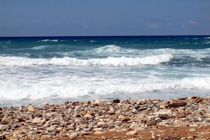 Пляж Kotsias Beach в Пафосе