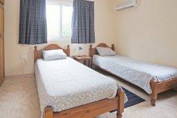 Спальня 3. Кипр, Коннос Бэй : Комфортабельная двухэтажная вилла с 3-мя спальнями, с открытым бассейном, садиком и BBQ