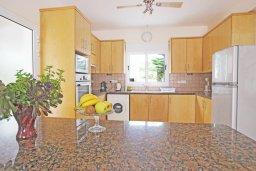 Кухня. Кипр, Коннос Бэй : Комфортабельная двухэтажная вилла с 3-мя спальнями, с открытым бассейном, садиком и BBQ