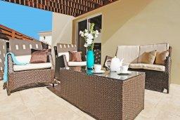 Патио. Кипр, Каво Марис Протарас : Прекрасная двухэтажная вилла с 3-мя спальнями, с открытым бассейном и настольным теннисом и уютным патио