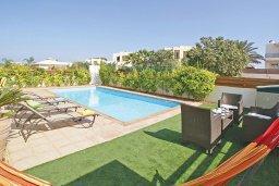 Патио. Кипр, Пернера Тринити : Привлекательная двухэтажная вилла с 3-мя спальнями, с чудесным садиком, бассейном и верандой