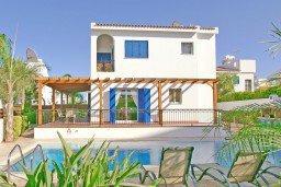 Вид на виллу/дом снаружи. Кипр, Каво Марис Протарас : Просторная оборудованная трехэтажная вилла с 4-мя спальнями, с бассейном и барбекю