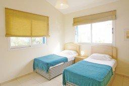 Спальня 2. Кипр, Каво Марис Протарас : Просторная оборудованная трехэтажная вилла с 4-мя спальнями, с бассейном и барбекю