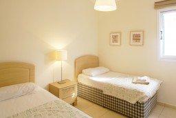 Спальня 4. Кипр, Каво Марис Протарас : Просторная оборудованная трехэтажная вилла с 4-мя спальнями, с бассейном и барбекю