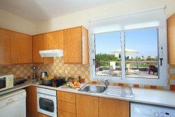Кухня. Кипр, Пернера : Уютная вилла с 2-мя спальнями, открытым бассейном, зеленым садом и и солнечной террасой с барбекю
