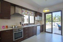 Кухня. Кипр, Коннос Бэй : Прекрасная вилла с 3-мя спальнями, с частным открытым бассейном, большой территорией с зеленым садом, барбекю и традиционной глиняной печью