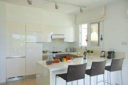 Кухня. Кипр, Пернера : Комплекс из двух вилл с 8 спальнями, с открытым бассейном, большой зеленой территорией, пляжным волейболом и панорамным видом на море
