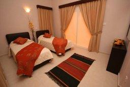 Спальня. Кипр, Писсури : Прекрасная вилла с фантастическим панорамным видом на море с 3-мя спальнями для 6-ти человек