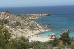Пляж Коннос Бэй / Konnos Bay Beach в Коннос Бэйе (Капо Греко)