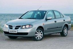 Nissan Almera 1.4 механика : Кипр