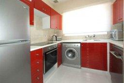 Кухня. Кипр, Гермасойя Лимассол : Апартамент в 20 метрах от пляжа, с гостиной и двумя отдельными спальнями, для 4 человек
