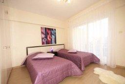 Спальня. Кипр, Гермасойя Лимассол : Апартамент в 20 метрах от пляжа, с гостиной, двумя спальнями и двумя ванными комнатами