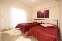 Спальня 2. Кипр, Гермасойя Лимассол : Апартамент в 20 метрах от пляжа, с гостиной, двумя спальнями и двумя ванными комнатами