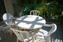 Терраса. Кипр, Мутаяка Лимассол : Апартамент 1 спальня, верхний этаж