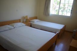 Спальня. Кипр, Мутаяка Лимассол : Апартамент 1 спальня, верхний этаж