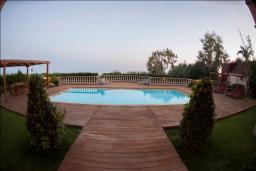 Бассейн. Кипр, Св. Рафаэль Лимассол : Шикарная вилла с видом на море, с 4-мя спальнями, с бассейном, беседкой и барбекю, расположена в Лимассоле