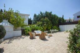 Территория. Кипр, Каппарис : Вилла на берегу моря с большим садом и уютным патио с барбекю, расположена около пляжа Malama Beach