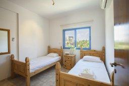 Спальня 3. Кипр, Сиренс Бич - Айя Текла : Вилла с 3-мя спальнями, с бассейном и барбекю, расположена у аквапарка Waterworld