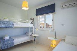 Спальня 2. Кипр, Нисси Бич : Вилла на берегу моря с 2-мя спальнями, потрясающим внутренним двориком, в окружение сада и великолепным видом на море