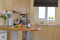 Кухня. Кипр, Центр Айя Напы : Уютный апартамент с отдельной спальней и приватным садом с барбекю