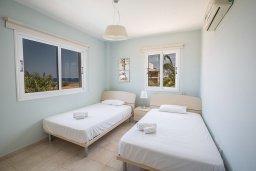 Спальня 3. Кипр, Пернера Тринити : Потрясающая вилла с видом на море, с 3-мя спальнями, с бассейном, солнечной террасой с патио и барбекю