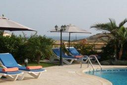 Бассейн. Кипр, Писсури : Двухэтажная вилла с бассейном и зеленым двориком, большая гостиная, 3 спальни, 3 ванные комнаты, место для барбекю, парковка, Wi-Fi