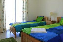 Спальня 3. Кипр, Аргака : Уютная вилла с видом на море, с 3-мя спальнями, с бассейном и барбекю, расположена сего в 50 метрах от песчаного пляжа Argaka