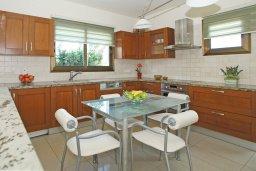 Кухня. Кипр, Ионион - Айя Текла : Роскошная двухэтажная вилла с 4-мя спальнями, с бассейном и крытой верандой расположена в тихом районе Айя Текла