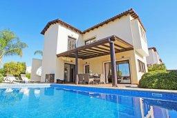 Фасад дома. Кипр, Санрайз Протарас : Роскошная двухэтажная вилла с 3-мя спальнями, с приватным садом с барбекю и просторным бассейном