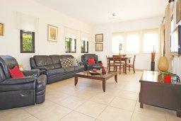 Гостиная. Кипр, Санрайз Протарас : Роскошная двухэтажная вилла с 3-мя спальнями, с приватным садом с барбекю и просторным бассейном