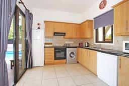 Кухня. Кипр, Санрайз Протарас : Роскошная двухэтажная вилла с 3-мя спальнями, с приватным садом с барбекю и просторным бассейном