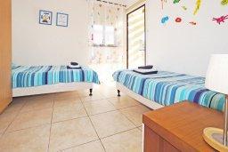 Спальня 2. Кипр, Санрайз Протарас : Роскошная двухэтажная вилла с 3-мя спальнями, с приватным садом с барбекю и просторным бассейном