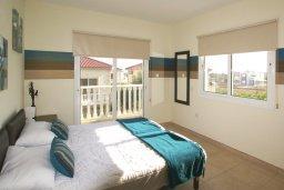 Спальня 3. Кипр, Нисси Бич : Уютная двухэтажная вилла с 3-мя спальнями, с бассейном и тенистой беседкой с барбекю