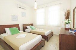Спальня 2. Кипр, Фиг Три Бэй Протарас : Современная двухэтажная вилла с 2-мя спальнями, с бассейном, солнечной террасой, патио и традиционной печью
