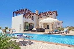 Фасад дома. Кипр, Ионион - Айя Текла : Новая роскошная вилла с 3-мя спальнями, с бассейном, с традиционной печью и солнечной террасой, расположена в небольшом комплексе в Айя-Текла