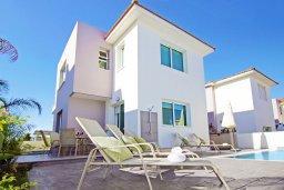 Фасад дома. Кипр, Пернера Тринити : Новая роскошная двухэтажная вилла с 3-мя спальнями, с бассейном, патио и барбекю