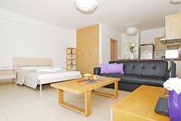 Студия (гостиная+кухня). Кипр, Фиг Три Бэй Протарас : Уютная студия с балконом с видом на горы, расположена в нескольких минутах ходьбы до залива Fig Tree Bay
