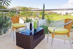 Терраса. Кипр, Фиг Три Бэй Протарас : Очаровательная студия в Протарасе с балконом в 100 метрах от моря