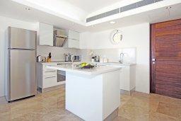 Кухня. Кипр, Каво Марис Протарас : Потрясающий апартамент в 100 метрах от пляжа, с двумя спальнями и балконом с шикарным видом на море