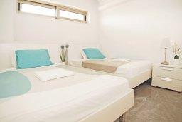 Спальня 2. Кипр, Каво Марис Протарас : Шикарный апартамент в 100 метрах от пляжа, с двумя спальнями и балконом с шикарным видом на море